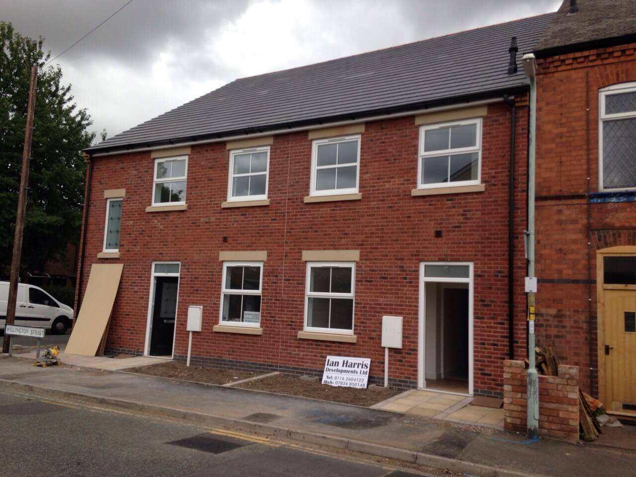 ATT on 4 new builds in Syston
