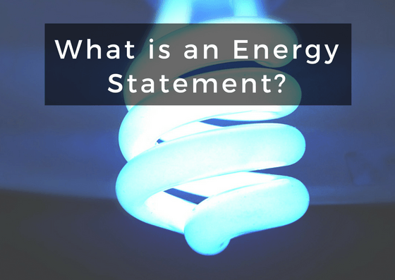 What is an Energy Statement?