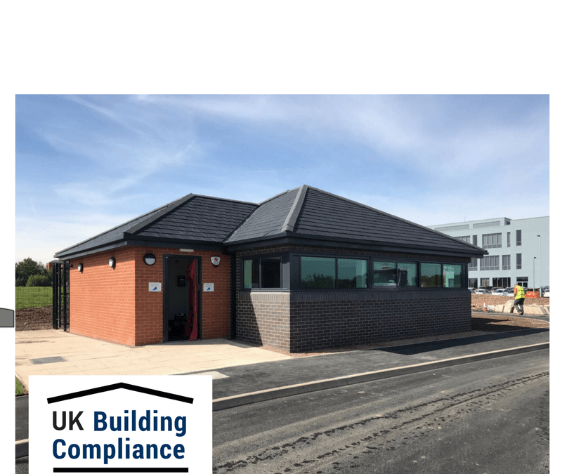 Air Tightness Testing – Gate House, Warrington