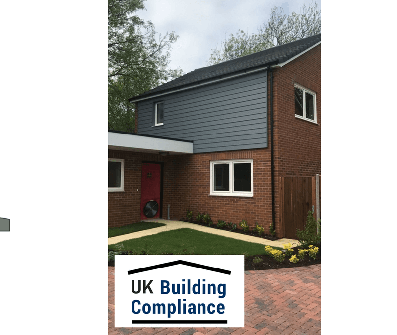 Air Tightness Testing – Ickleford, Hertfordshire