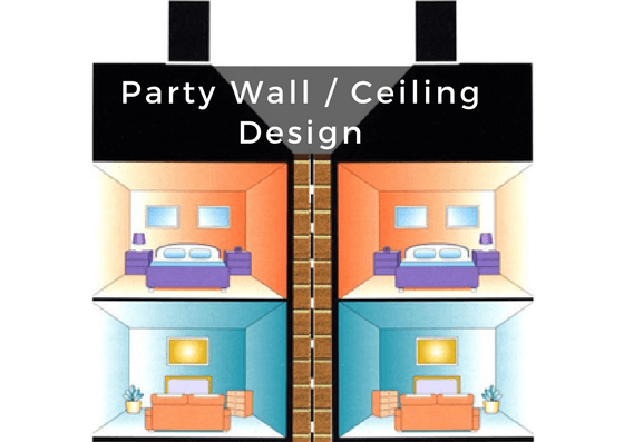 Party floor design sound proof building regulations for Party wall regulations