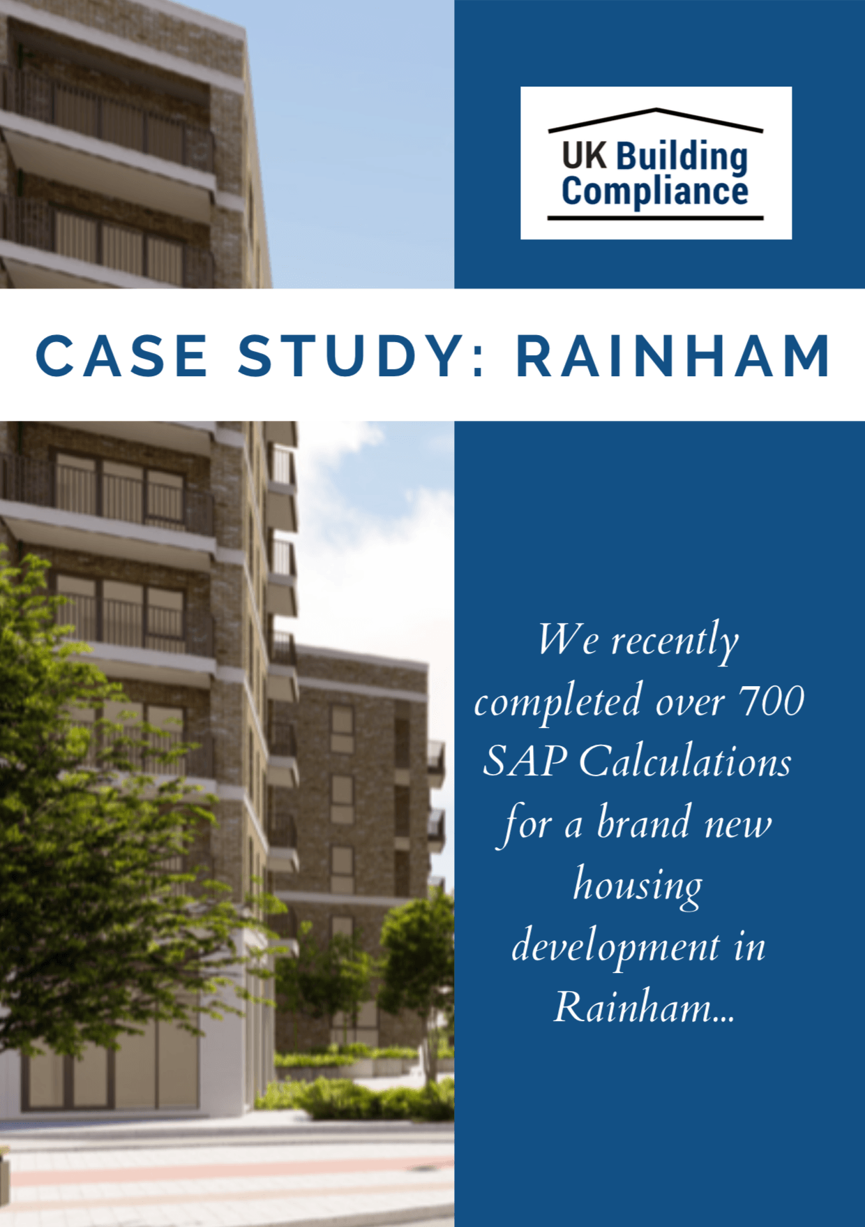 SAP Calculation Project - Rainham