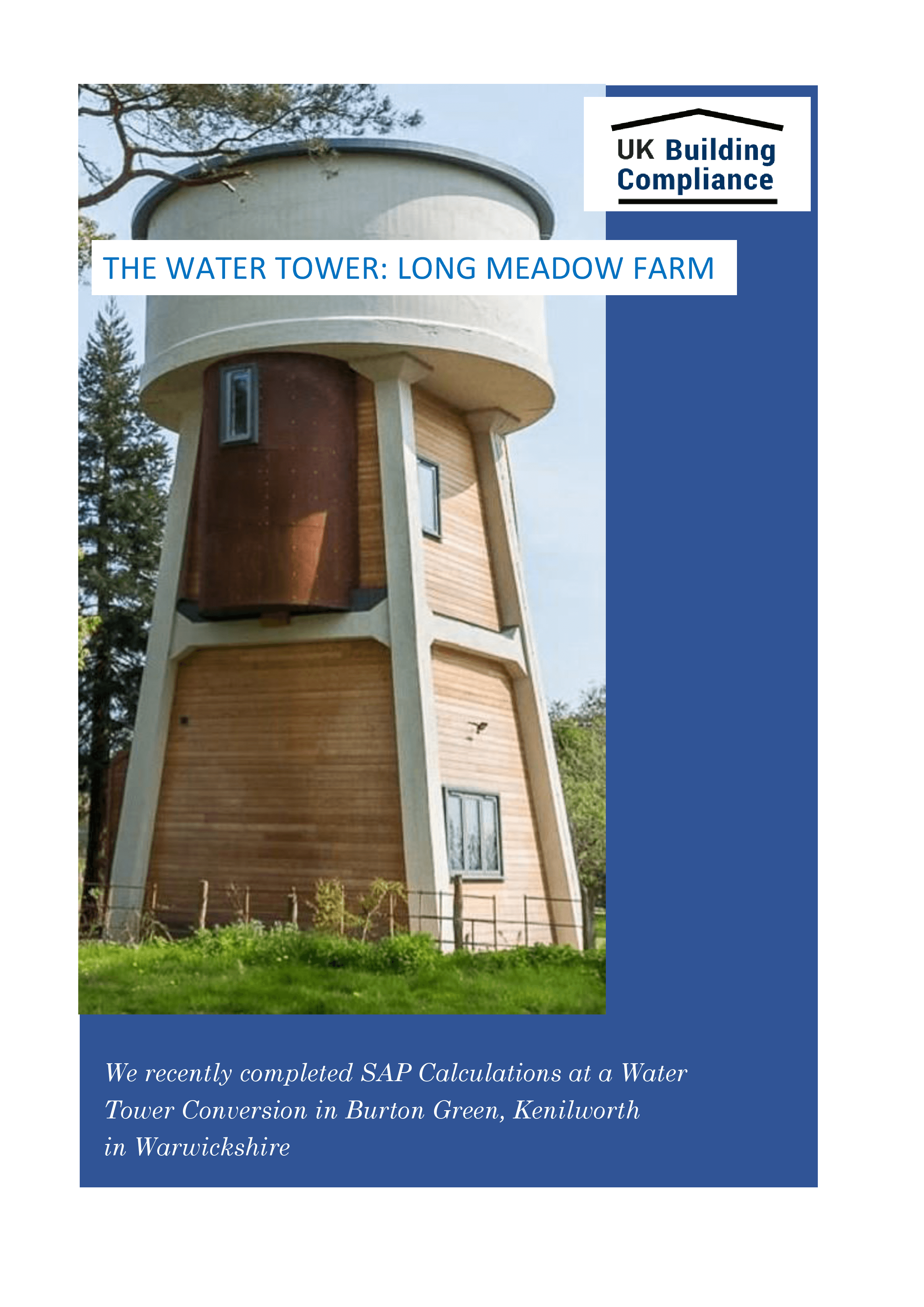 The Water Tower, Long Meadow Farm, Kenilworth, Warwickshire